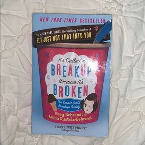 It's called a breakup because it's broken book